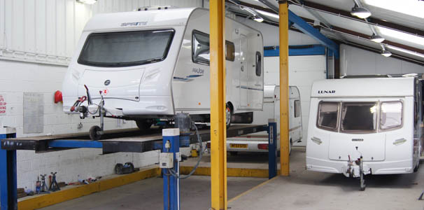 Caravan Repair Workshop